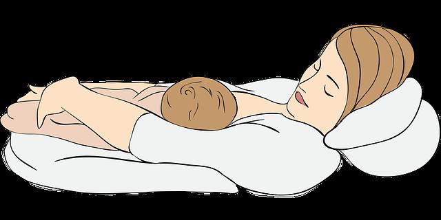 kojení vleže