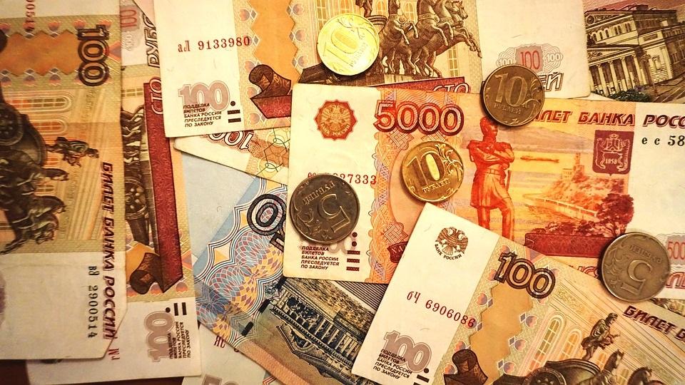peníze Rusko